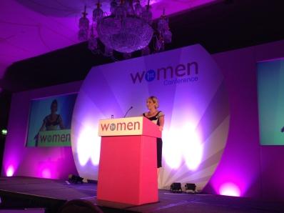 Simone Roche addresses the 2014 Women 1st Conference