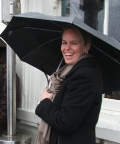 All wrapped up for Boat Race 2010. Here's hoping for some sun this year...